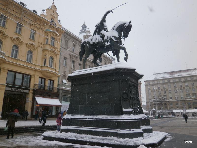 Ban Jelacic square