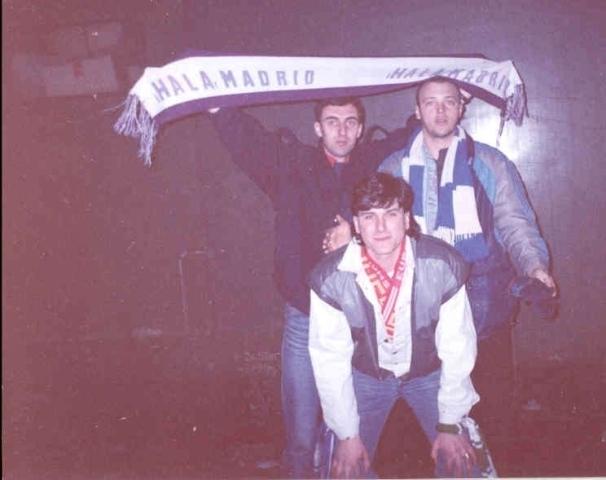 1987 away in Split, VULE, ČOS, DUGI