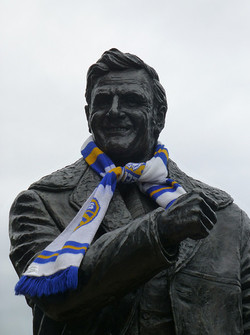 Don Revie wearing the colours....