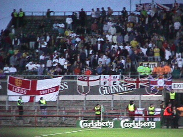 Dublin,Leeds v Lazio, Carlsberg cup