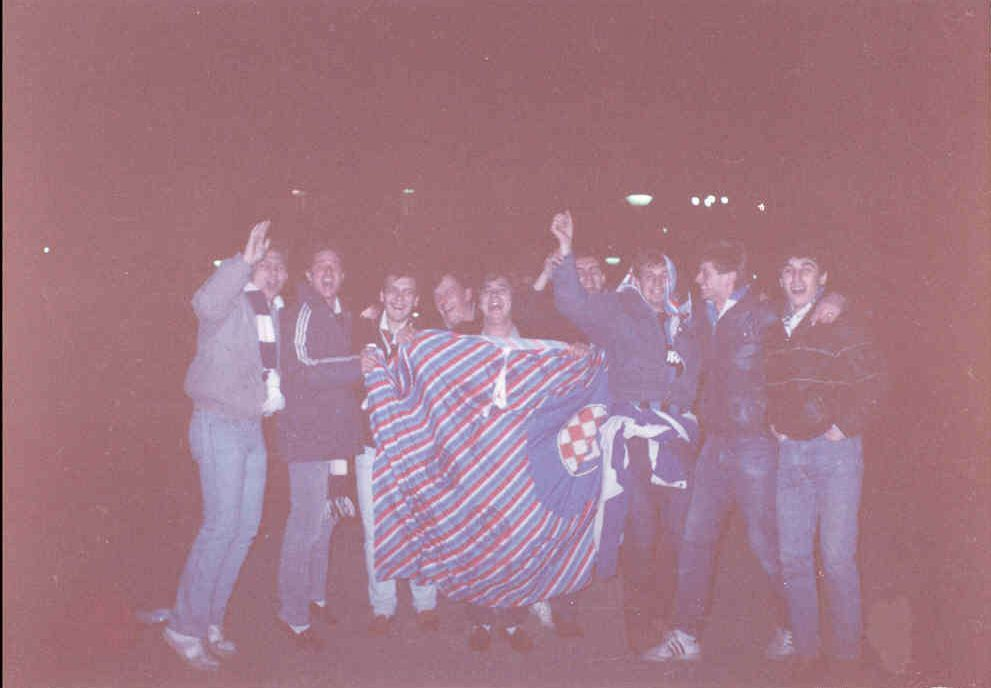 1987, DZFC Zaprudje boys on tour