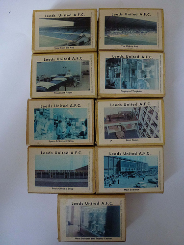 Matchboxes Leeds Utd set