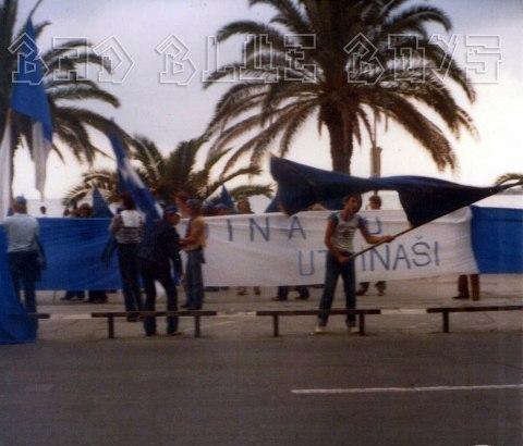 hajduk v DINAMO 1982