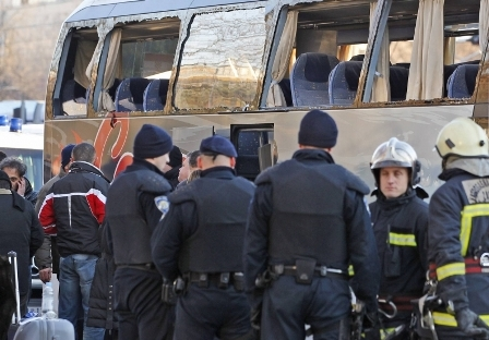 BBB attacked the PAOK buss