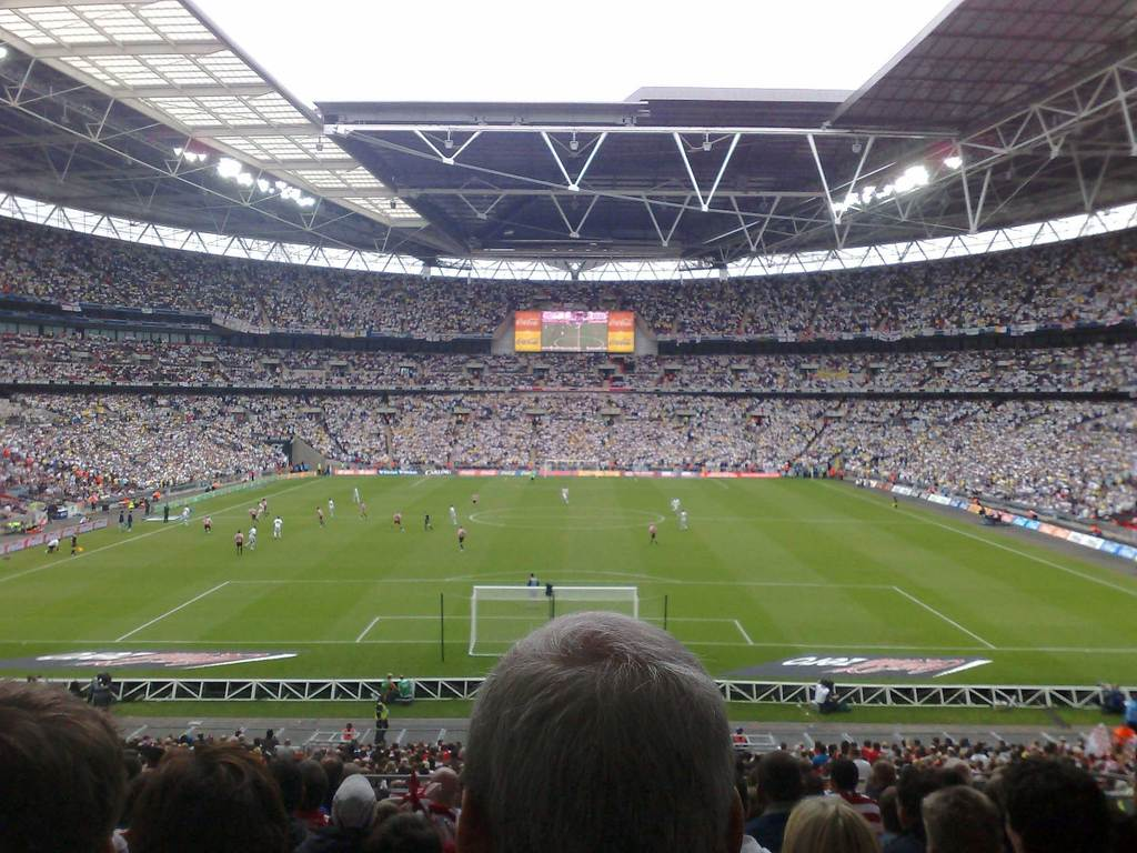 50 000 Leeds at Wembley