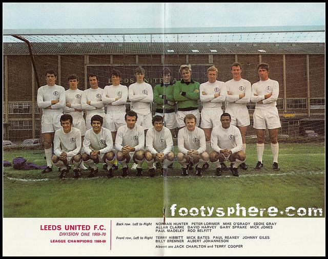 Leeds United FC 1969 70