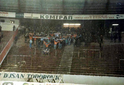 1989 belgrad, red star v DZFC