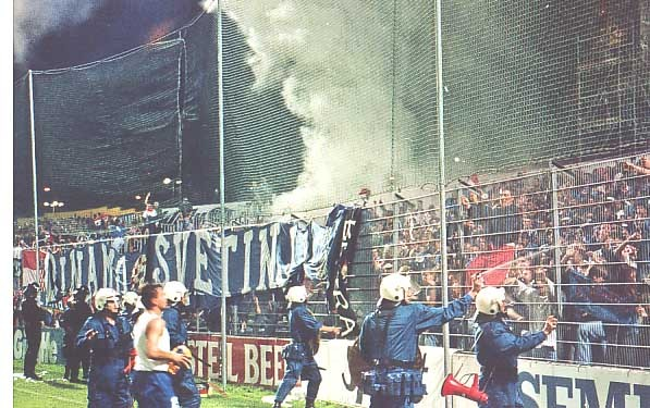 zurich grasshoperes v DZFC,1997.