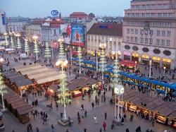 Jelačić Square, Zagreb Croatia