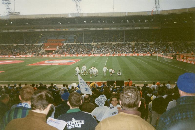 Leeds United 0 Aston Villa 3 League Cup final wembley 1996