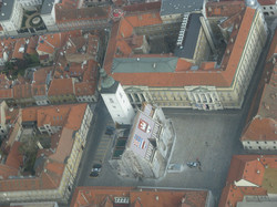 St. Marks sq Zagreb areal