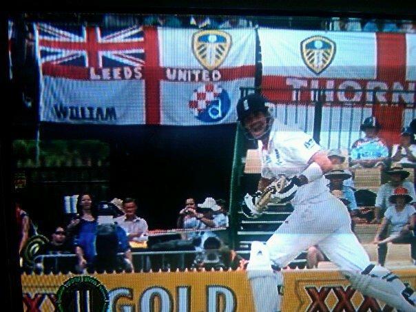 Ashes Australia, 2010.William flag