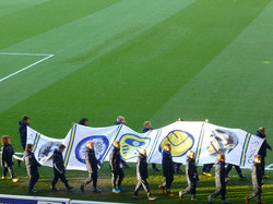 Leeds United vs Middlesbrough 2013, Gary Speed tribute