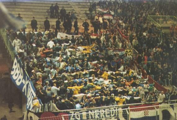 auxerre v dinamo 1994
