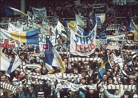 Leeds fans at Wembley 1973- Sunderland