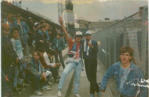 east stand spring 1987 L. & Z. & Dugi