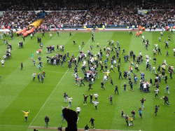 Bristol Rovers at home - promotion at last!