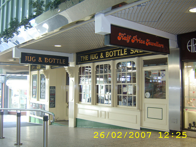 Jug & Bottle, in the Merrion Centre