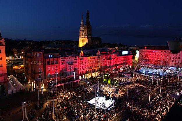 New Year, main square