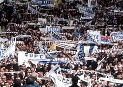 Leeds fans at Wembley- 1972- Arsenal