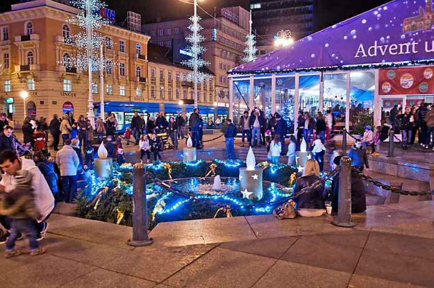 advent Ban Jelacic square