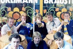 Leeds United pre season Zurich 79 80ish