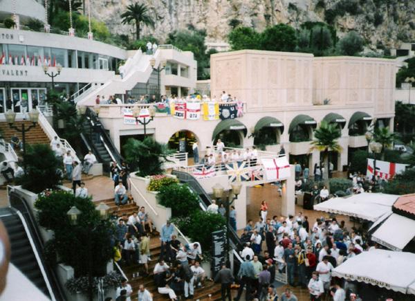 Monaco Away - Leeds take the main Monaco square