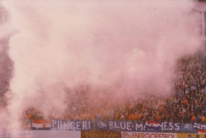 DINAMO v red star bg 1988