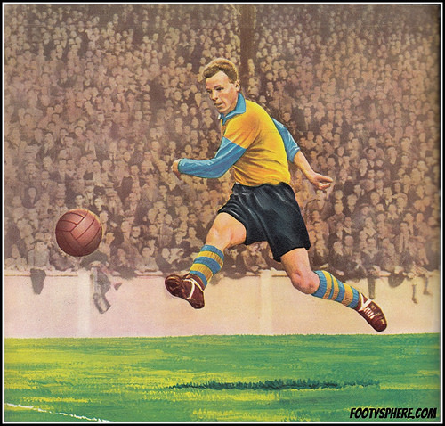 John Charles - Leeds United and Wales 1955