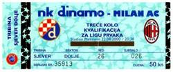 DINAMO v MILAN 2000