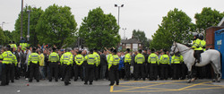 Leeds United and Millwall in May 2009