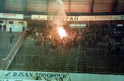 1989 belgrad, red star v DZFC