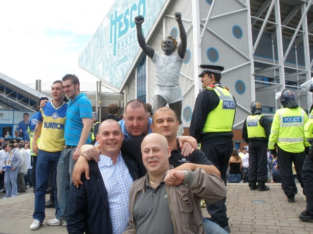 Elland Road with Billy