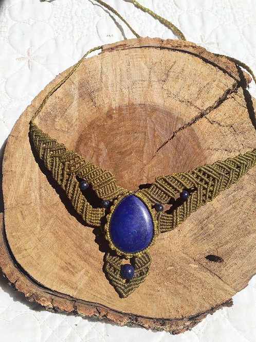 Colar Lápis-lazuli