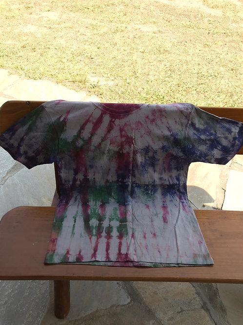 Camiseta Tie Dye Royal