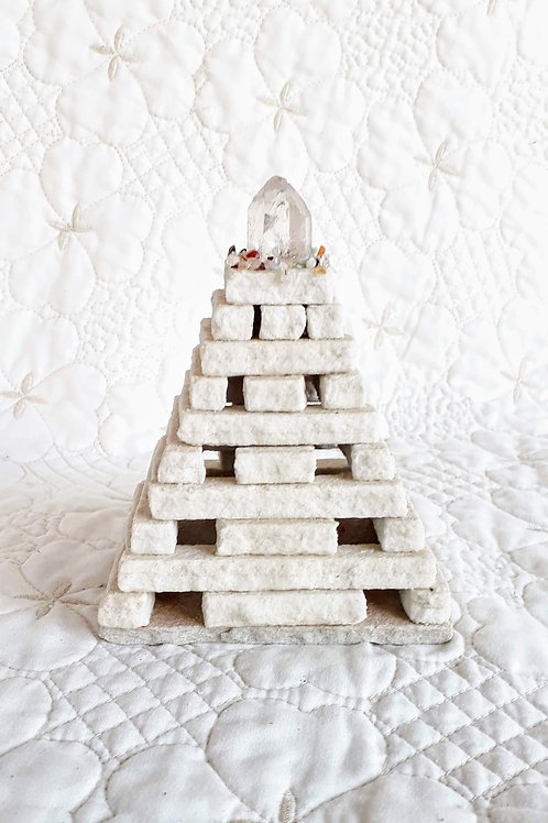 Porta Joias Pirâmide de Pedra