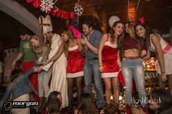 Crismas party morgan bar