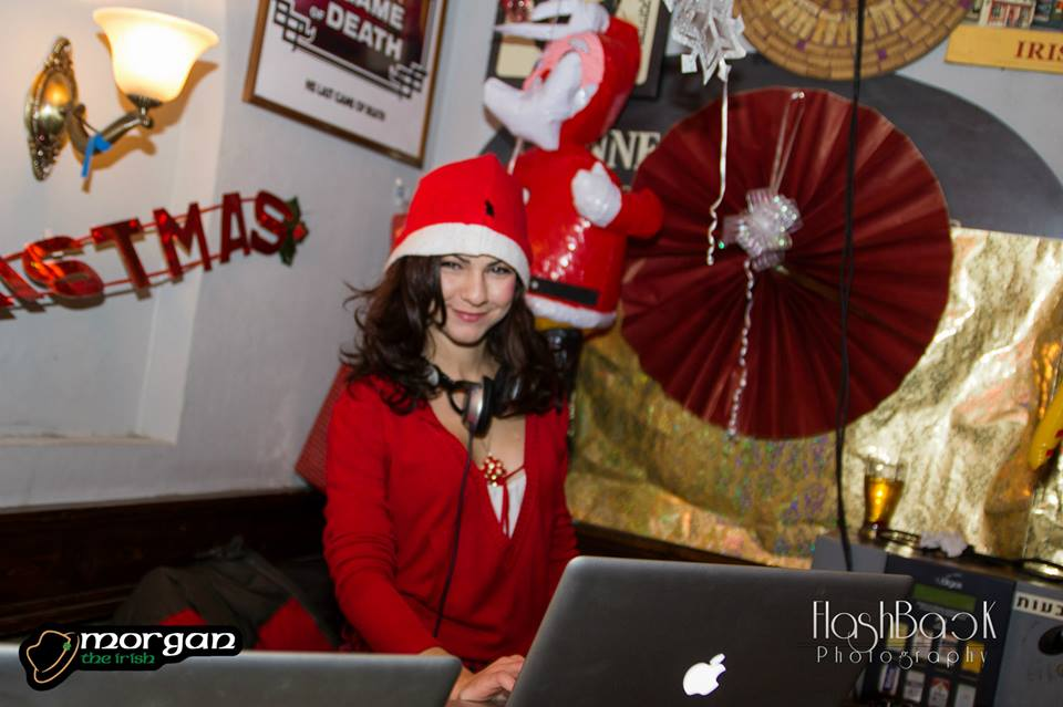 DJ Pitzi crismas party morgan bar