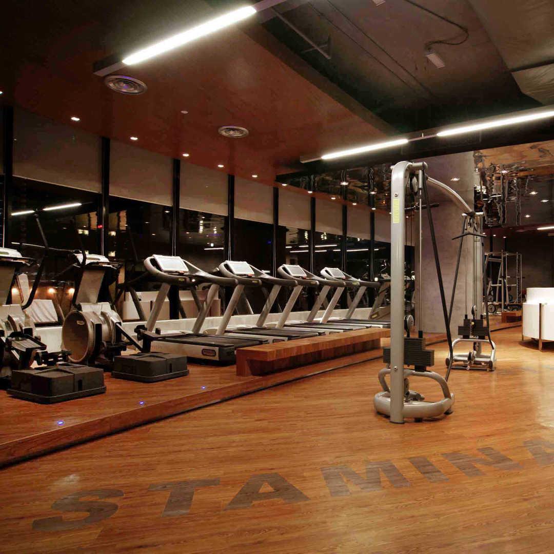 Workout at Westin