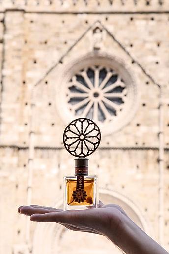 Angela Ciampagna Sculpure Cap Rose Window