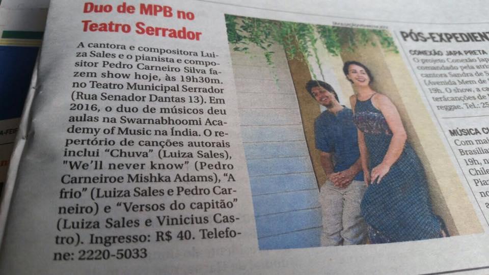 Jornal O Globo - Rio de Janeiro (2017)