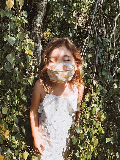 masques tissu enfant