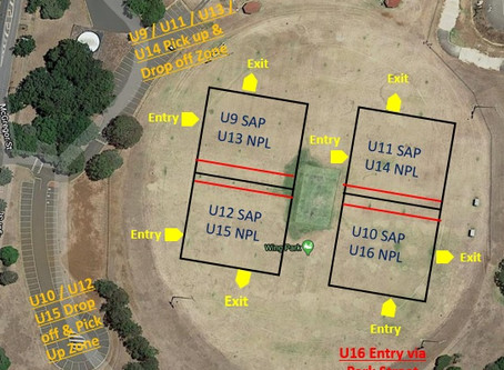 Return to Training Field Allocations