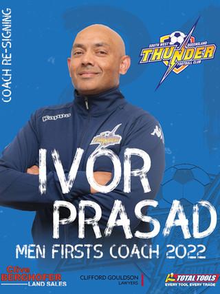 2022 Mens Firsts Coach Announced