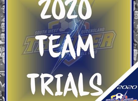 2020 Trials information
