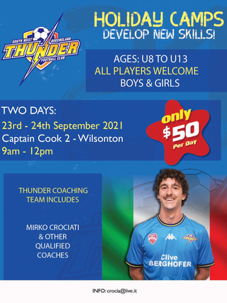 September Holiday Camp Announced