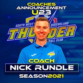 2021 Men's U23 Coach Announced