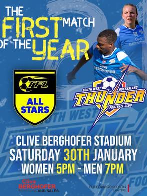 Thunder take on the TFL All Stars