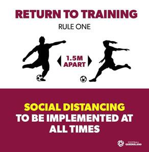 Important Info - Return to Training