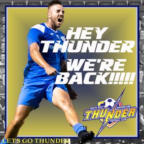HEY THUNDER WE'RE BACK!!!!!